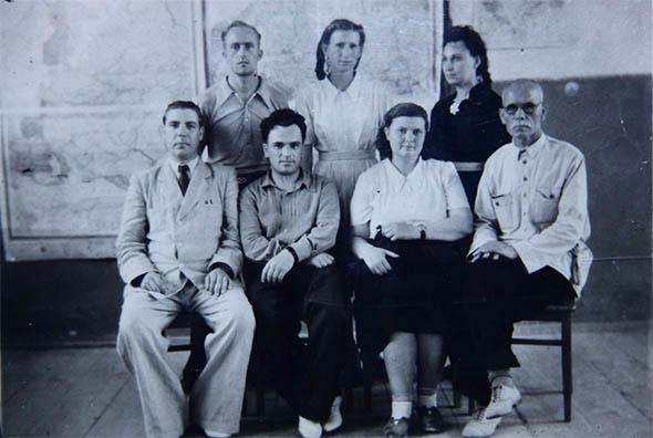 Первые преподаватели Бахчисарайского олледжа