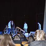 Посещение обучающимися колледжа спектакля «Он дошел до Берлина»